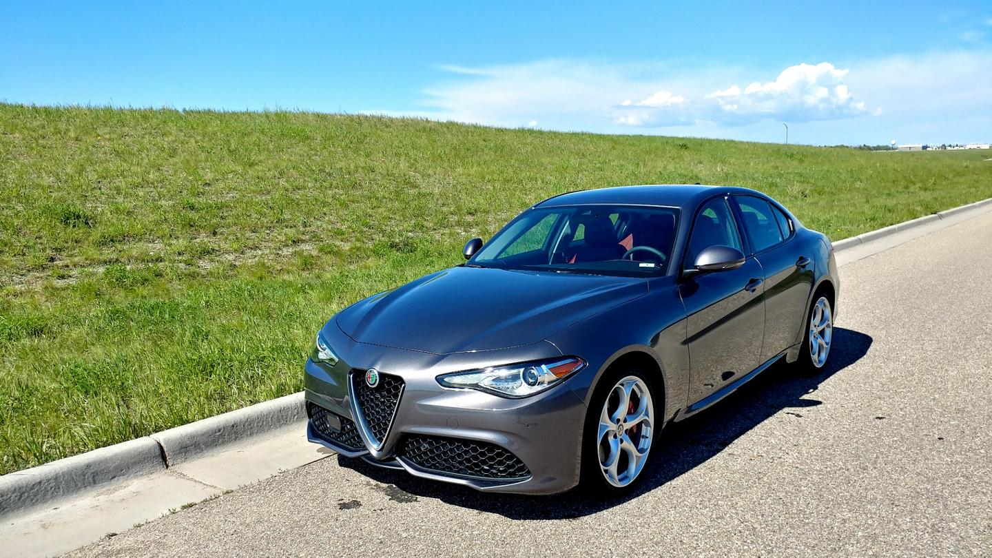 One of our chief concerns with the Giulia when it debuted in 2017 was the jerky transmission when in sport mode. That seems to have been largely remedied.