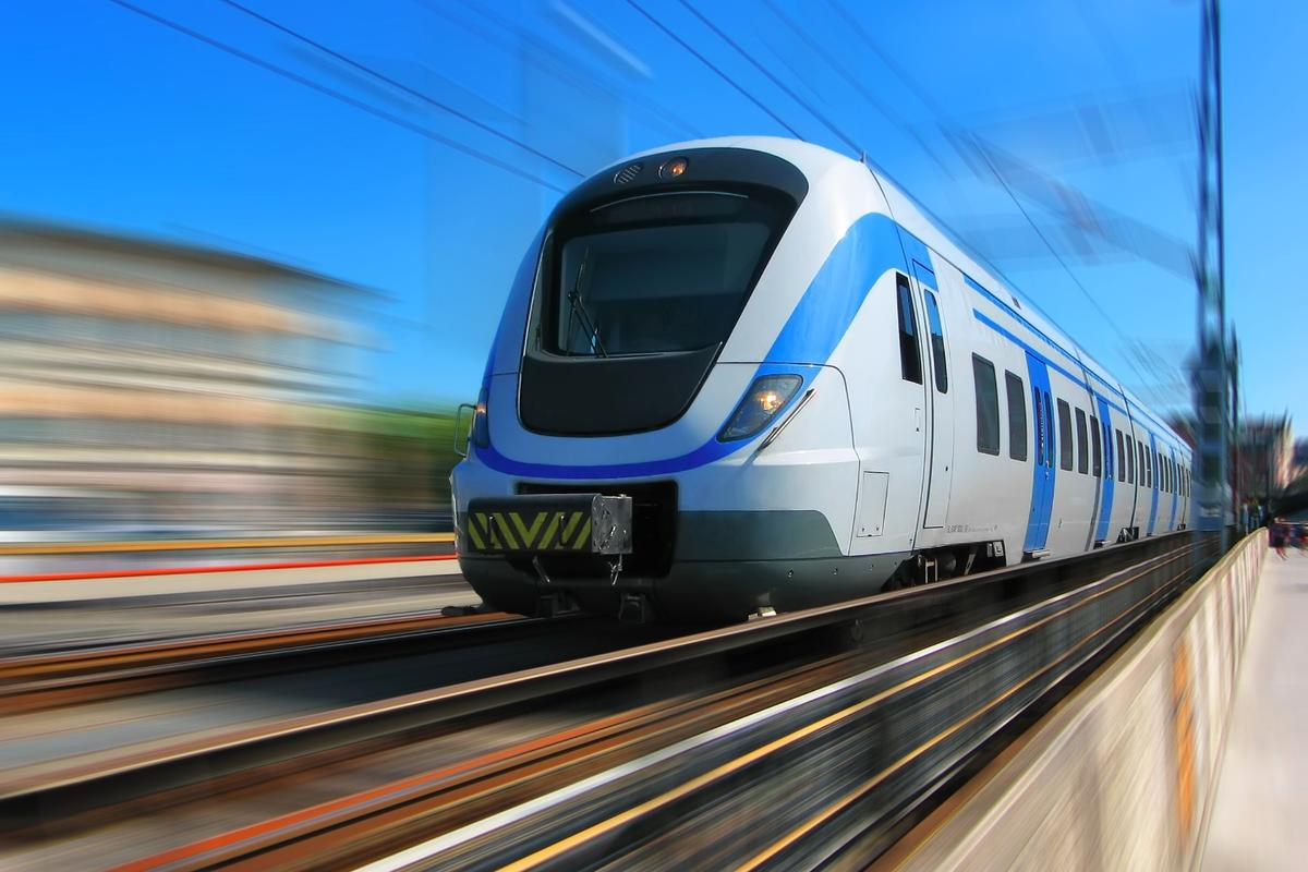 Trains equipped with Tracksure sensors can detect under-track voids