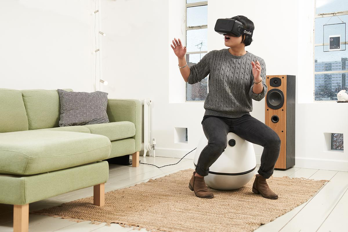 VRGO is designed to be compact and portable