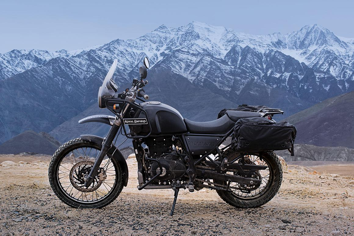 The Himalayan is Royal Enfield's first-ever purpose-built adventure bike