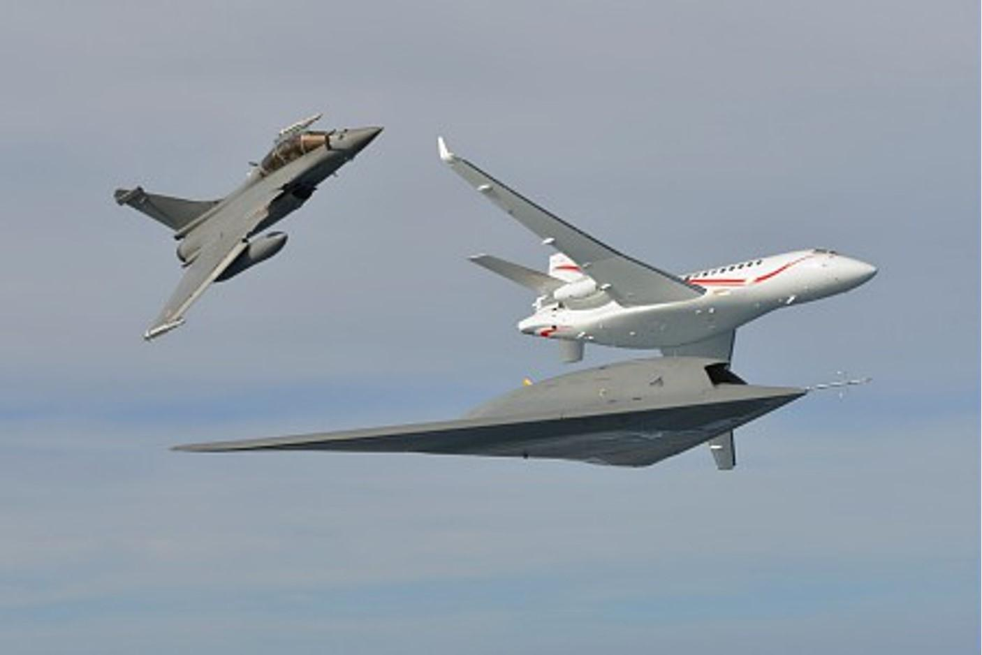 The formation flight lasted almost two hours