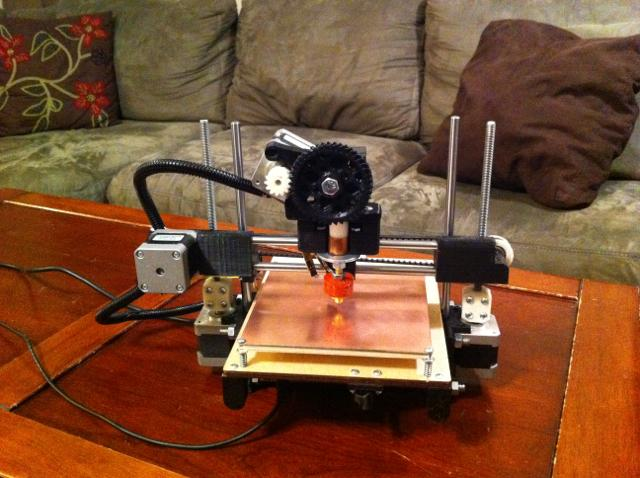 Printrbot aims to be the smallest and the simplest to construct 3D printer on the market