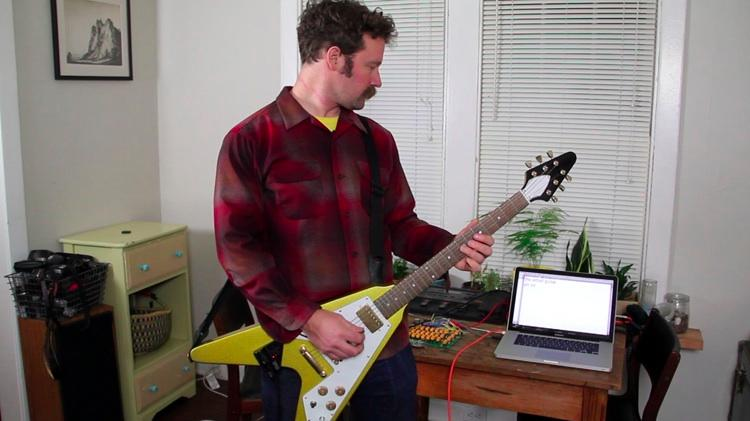 David Neevel's Email guitar
