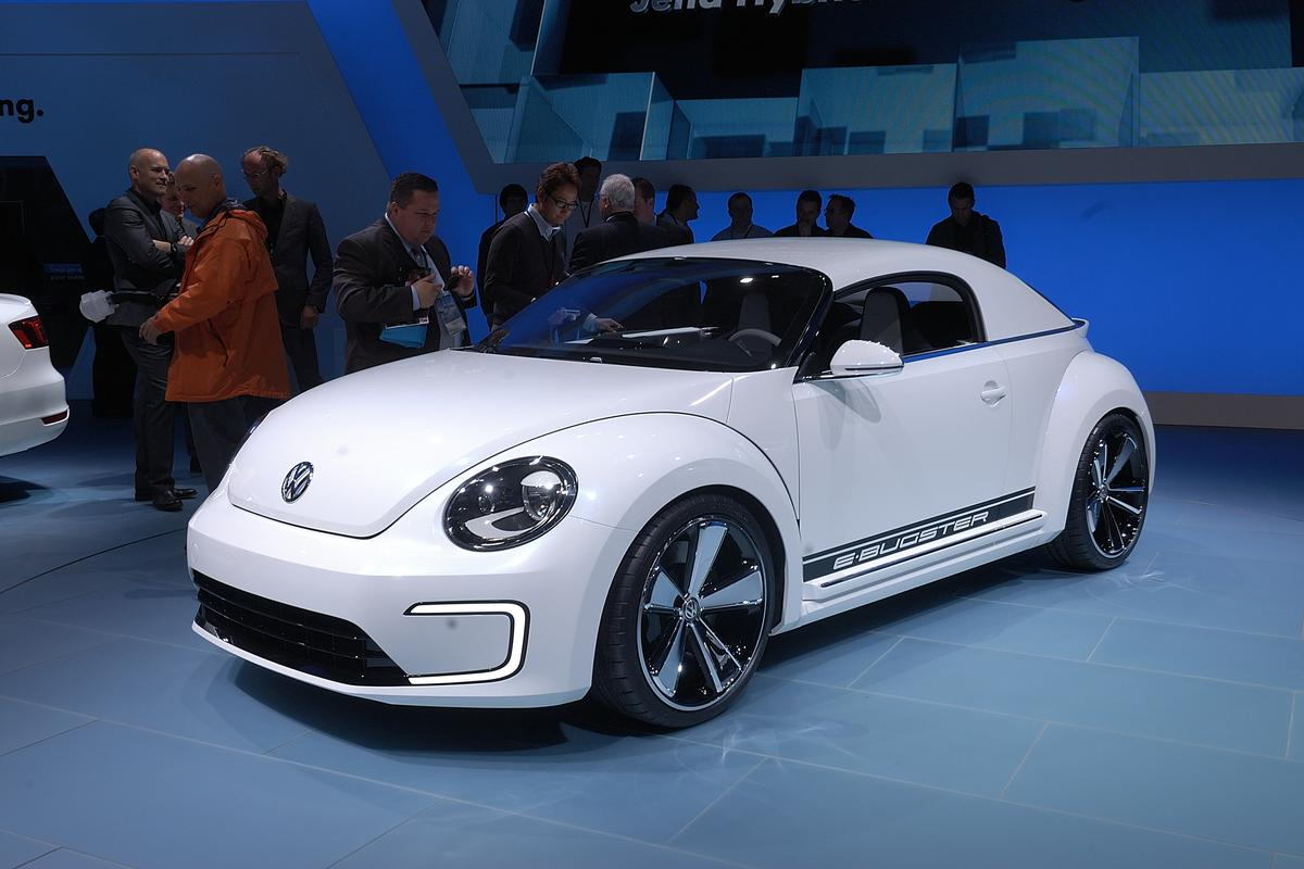 VW's electric E-Bugster in Detroit
