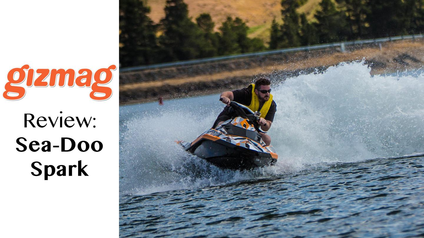 Loz and Noel take the Sea-Doo Spark for a run