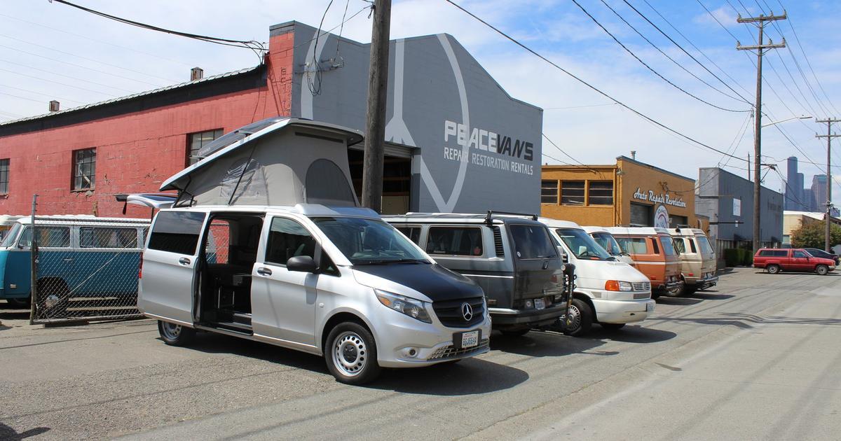 Peace Vans puts a compact, flexible Mercedes camper van on American roads