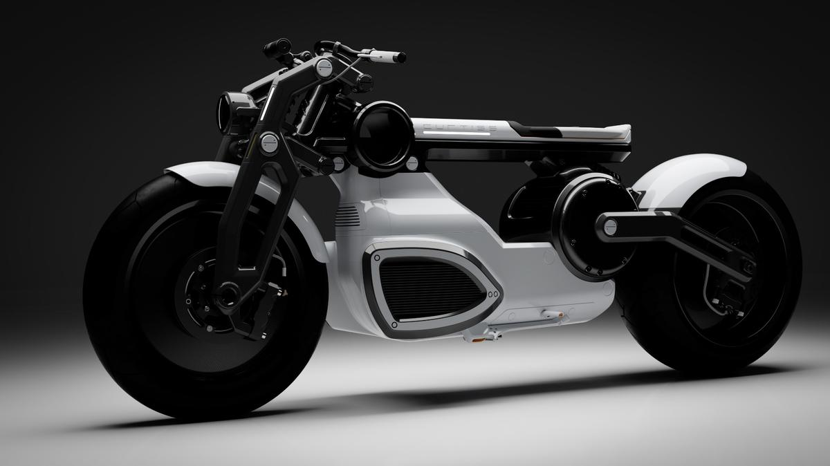 The Curtiss Motorcycles Zeus will go into production in 2020