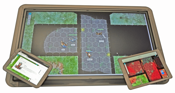 The GameChanger is mainly designed for use with several tabletop gaming programs, like Roll20.net, which allows players to customize digital maps and battlefields from scratch