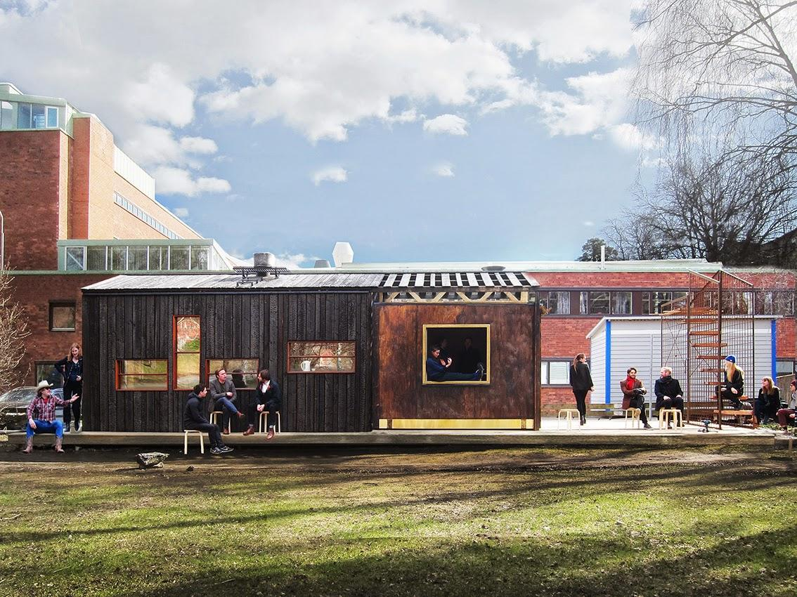 In all, Friggatto was cheap to build, only costing a total of around €16,000 (roughly US$18,000) thanks to the use of inexpensive and upcycled materials (Photo: Full Scale Studio)