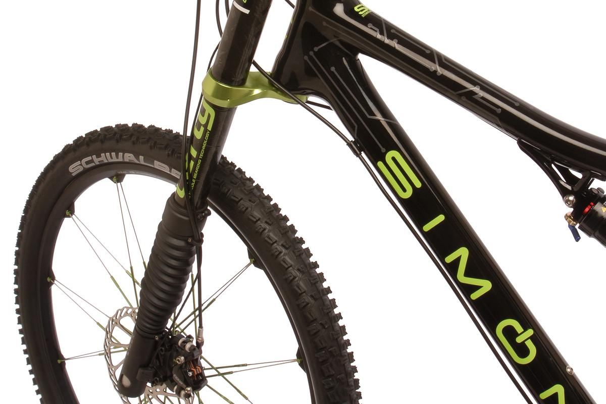 Cannondale's prototype Simon computer-controlled suspension fork