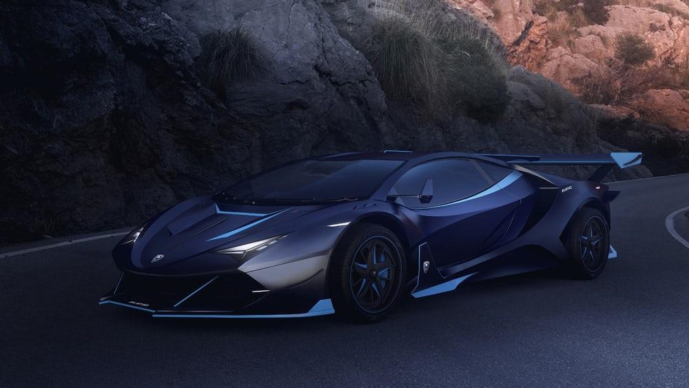 The outrageousAlieno Arcanum RP5 hypercar concept