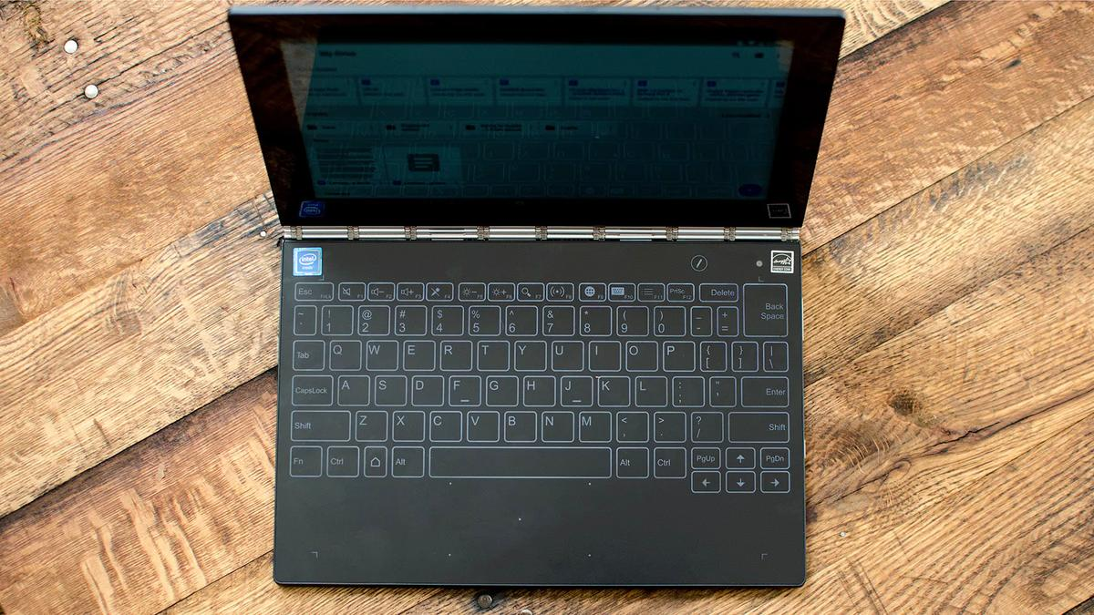 New Atlas reviews the Android version of the Lenovo Yoga Book