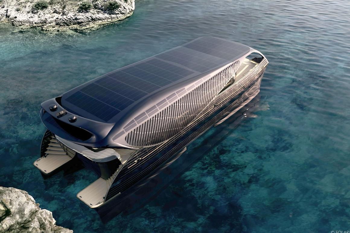 The SolarImpact can cruise indefinitely on solar power if you take it slow and luck outon the weather