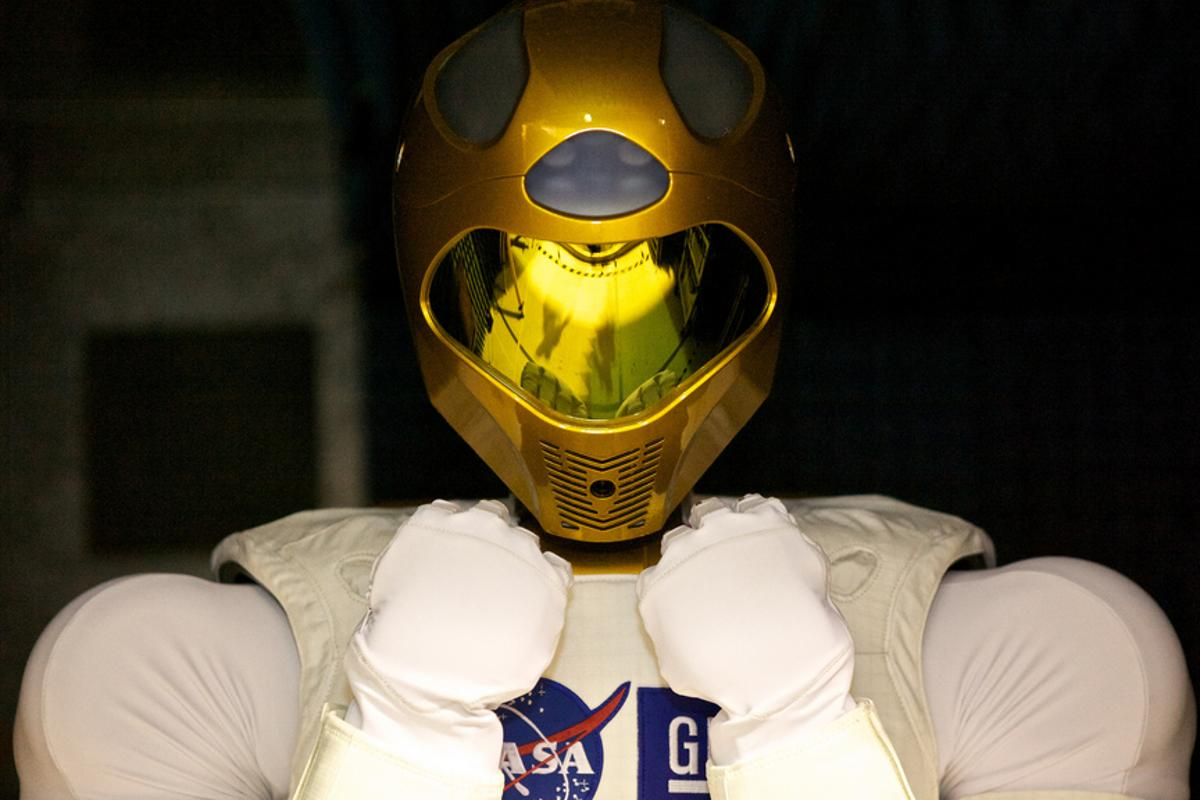 Robonaut 2 is set to become the first humanoid robot in space this month (Image: NASA)