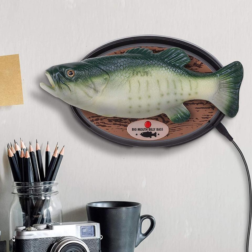 The new Big Mouth Billy Bass will lip sync to Alexa's spoken responses, delivering news andweather, reacting to timers and alarms, and dancing to music