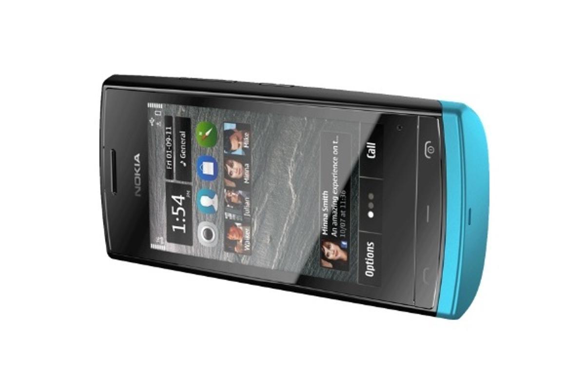 Nokia has unveiled Nokia 500, its next Symbian Anna-based device powered via a 1GHz CPU