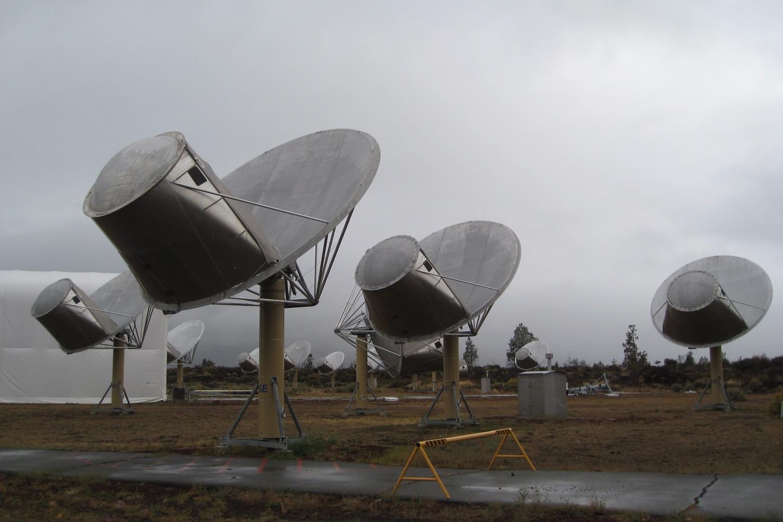 The Allen Telescope Array was built as part of the SETI effort
