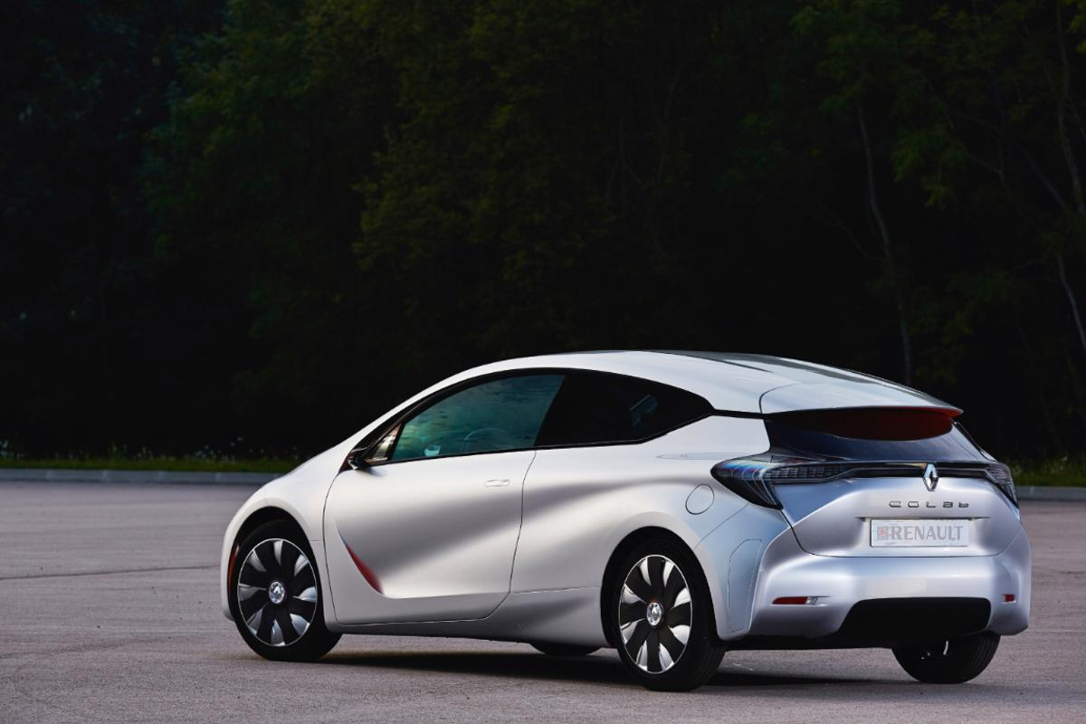 Renault says its all-new EOLAB concept boasts fuel efficiency of 1 L/100km (235 mpg)