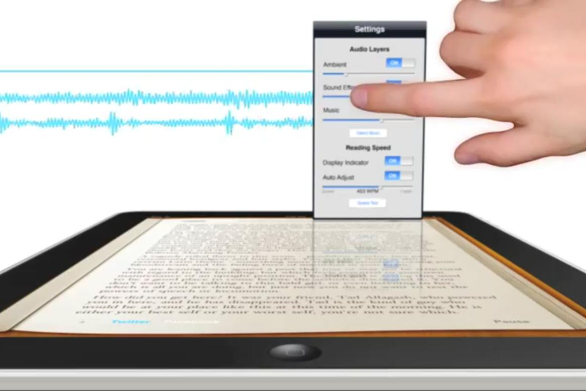 Booktrack adds ambient noise, sound effects and music to eBooks