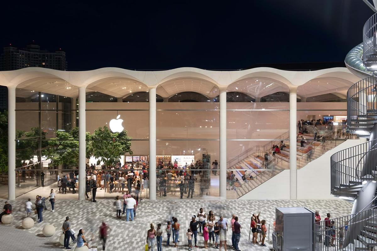 Miami Apple Store Inspired By Art Deco Architecture