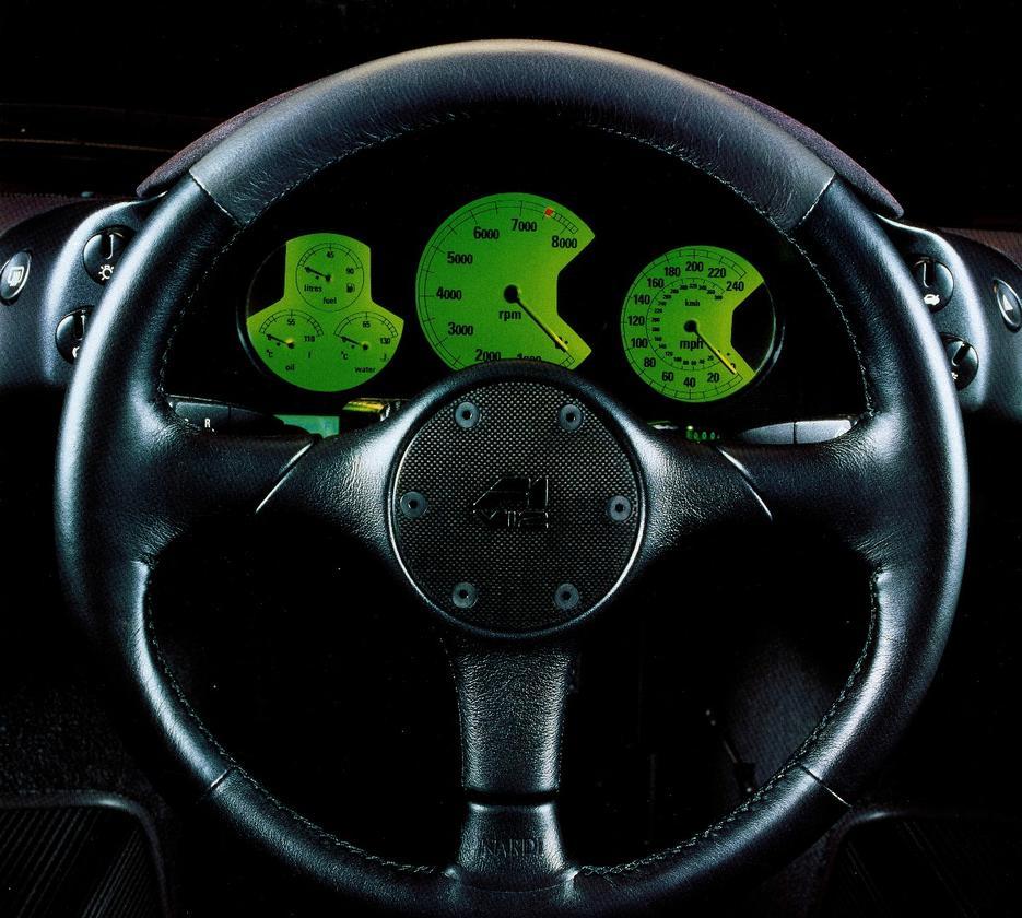 Behind the wheel of the McLaren F1