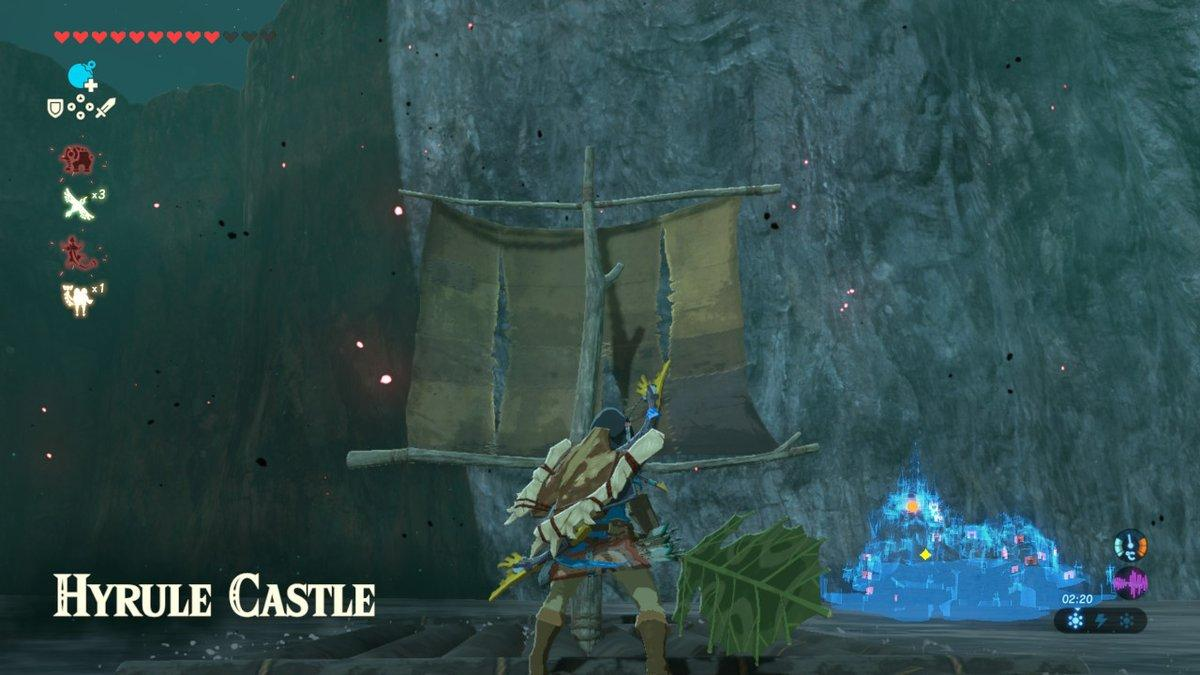 How To Reach The Hyrule Castle Memory Easily In Breath Of The Wild