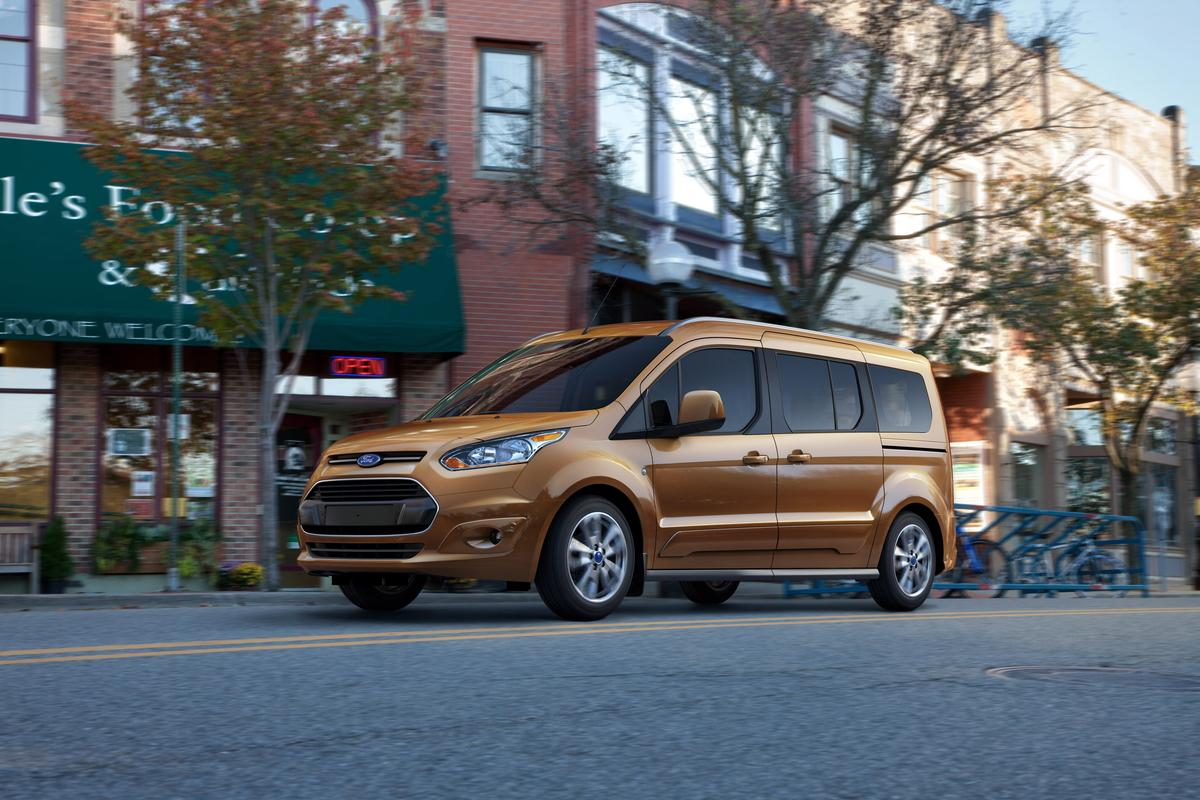 Ford's newly-updated Transit Connect Wagon