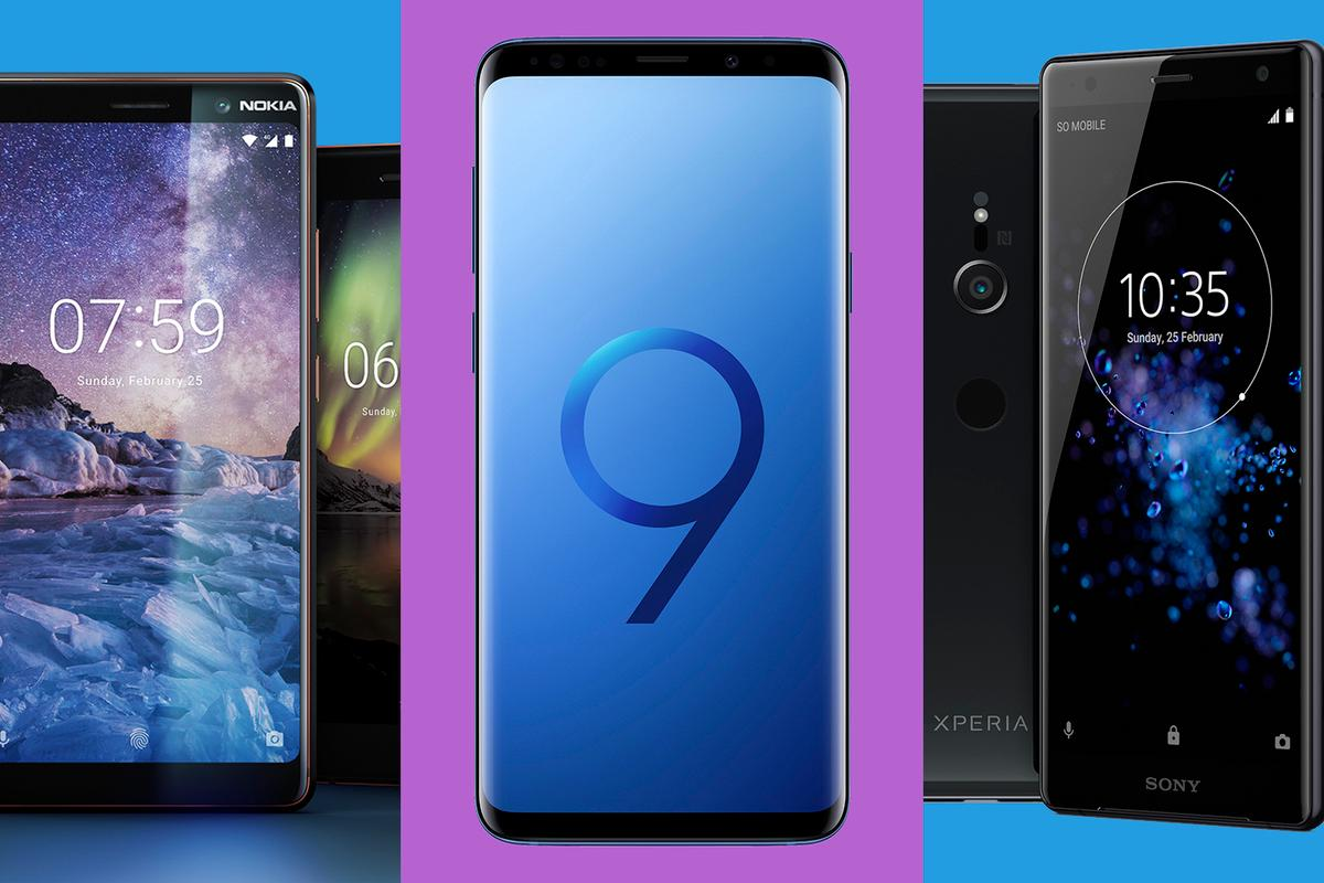 Some of the phones launched this week at MWC