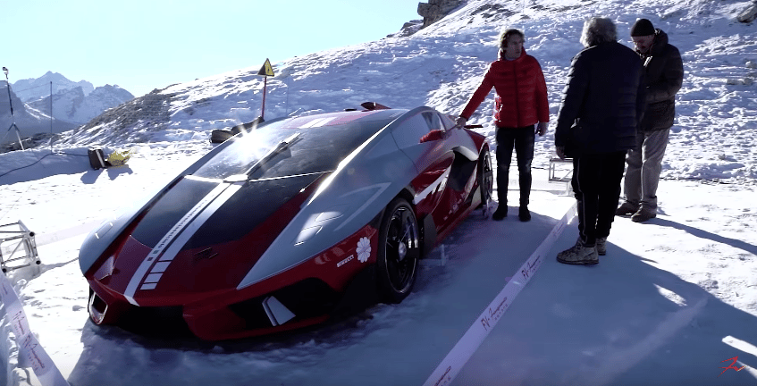 The Frangivento Asfané gets some fresh air in the Dolomites