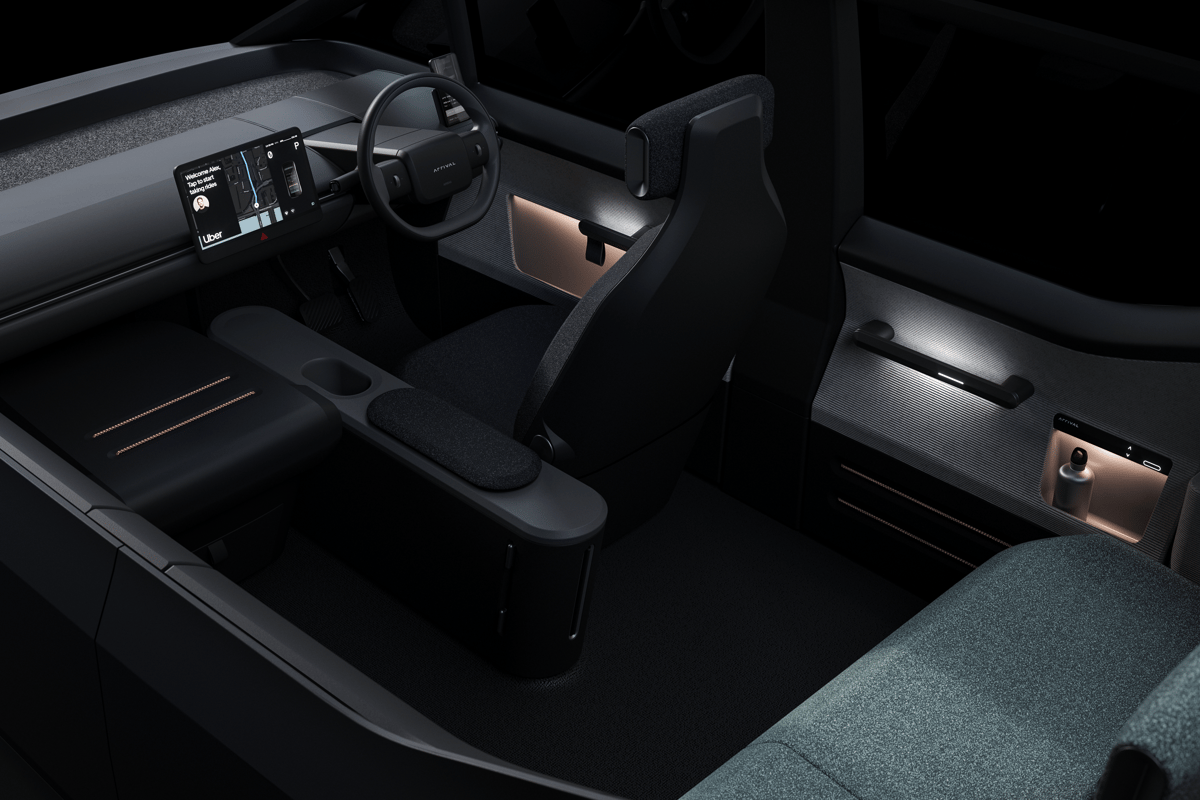 Arrival will consult with Uber drivers in the coming months on the design of the Arrival Car, so the finished vehicle could look very different to these early renders