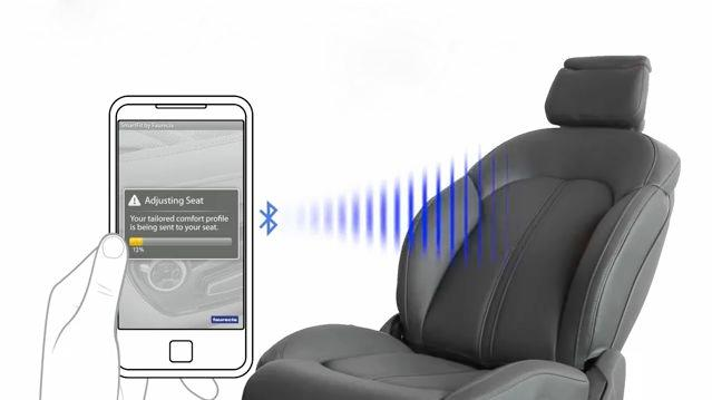 SmartFit is a system that combines a smartphone app with custom car seats to achieve the optimum fit