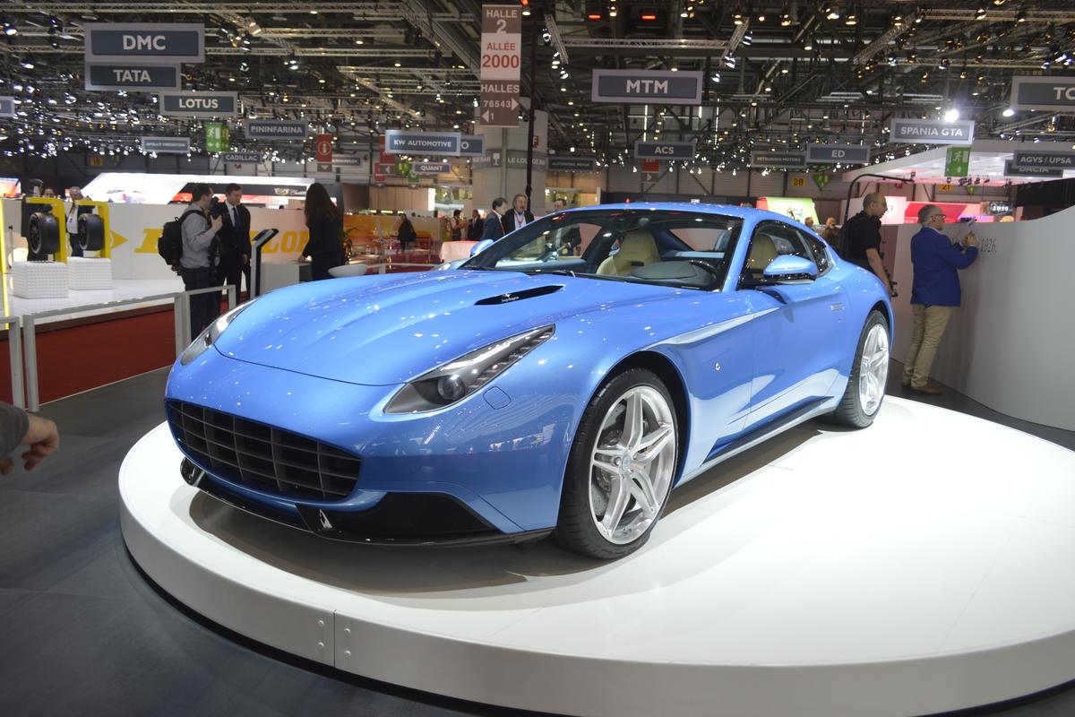 Carrozzeria Touring Superleggera's Berlinetta Lusso, few cars are this beautiful (Photo: C.C. Weiss/Gizmag.com)