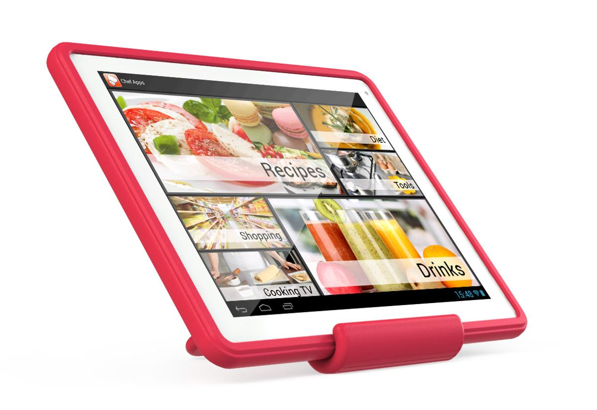 Archos recently unveiled the ChefPad, a 9.7-inch Android tablet designed to act as a cooking assistant, with an easy-to-clean protective case and apps for preparing food