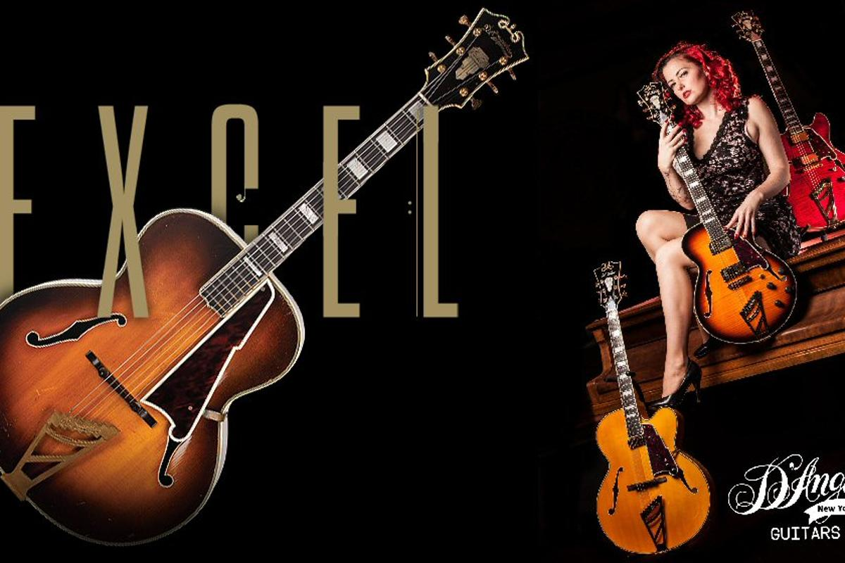 The iconic D'Angelico brand of guitars has been updated and relaunched