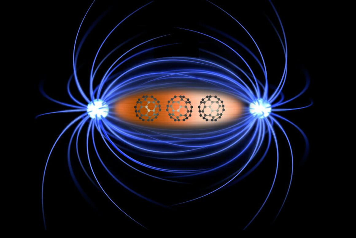 Magnetism generated in non-magnetic metals