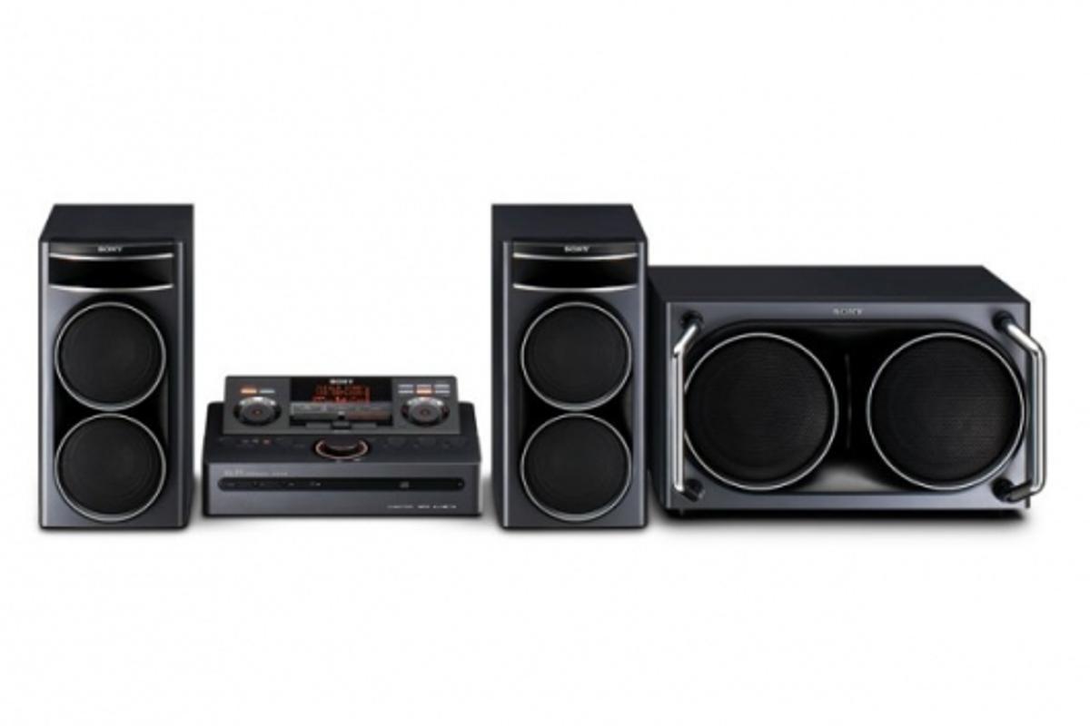 Sony's LBT-DJ2i mini hi-fi system.