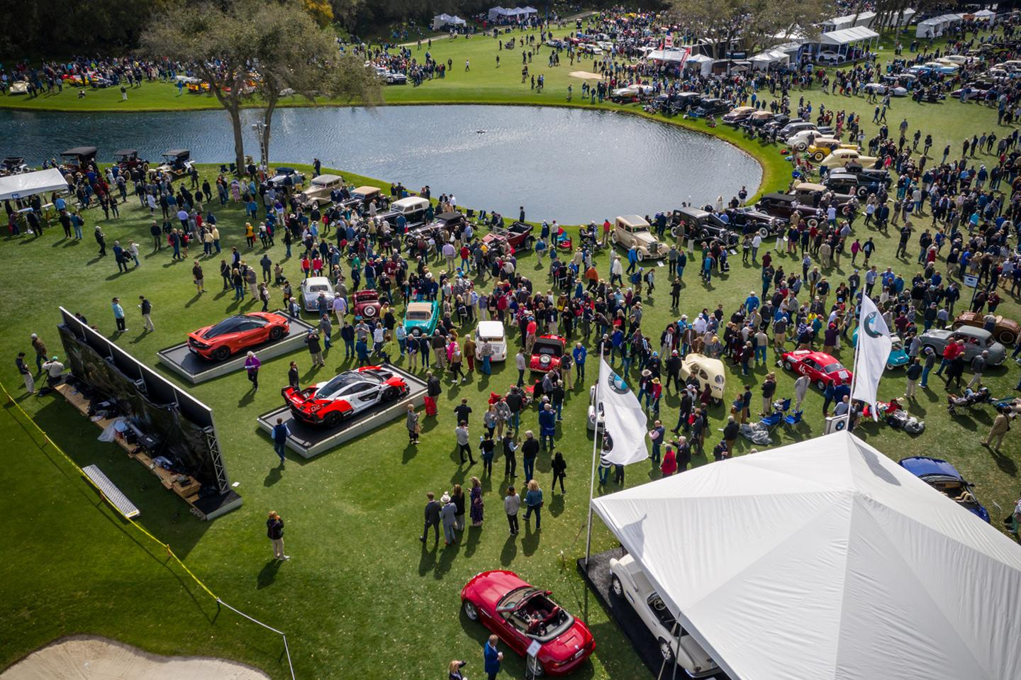 The 25th annual Amelia Island Concours d'Elegance was held on March 8, 2020 on the fairways of the Golf Club of Amelia Island