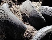 About a billion tires are discarded around the world each year despite demand exceeding supply