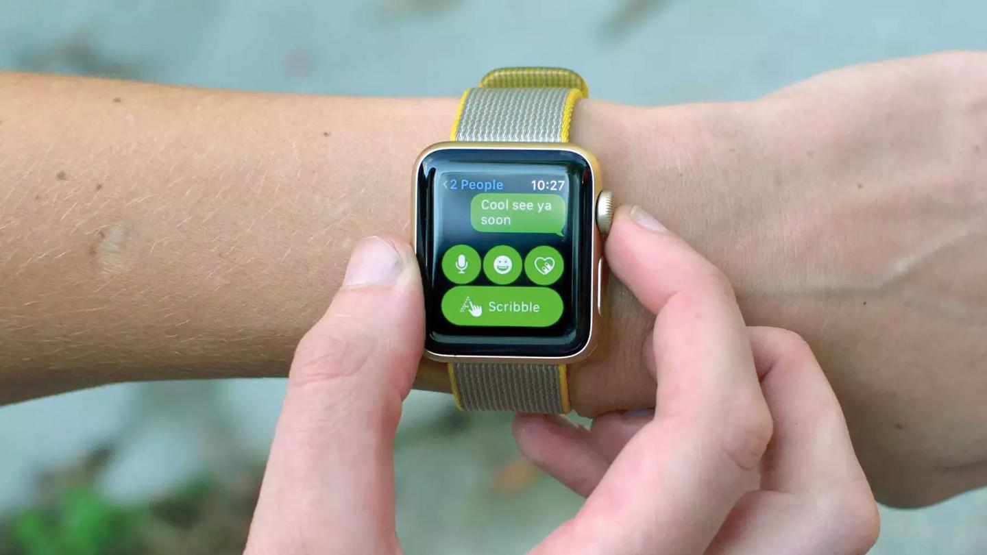 The Apple Watch Series 2 has a few user-friendly options for replying to texts, but it's still not safe to do so while driving