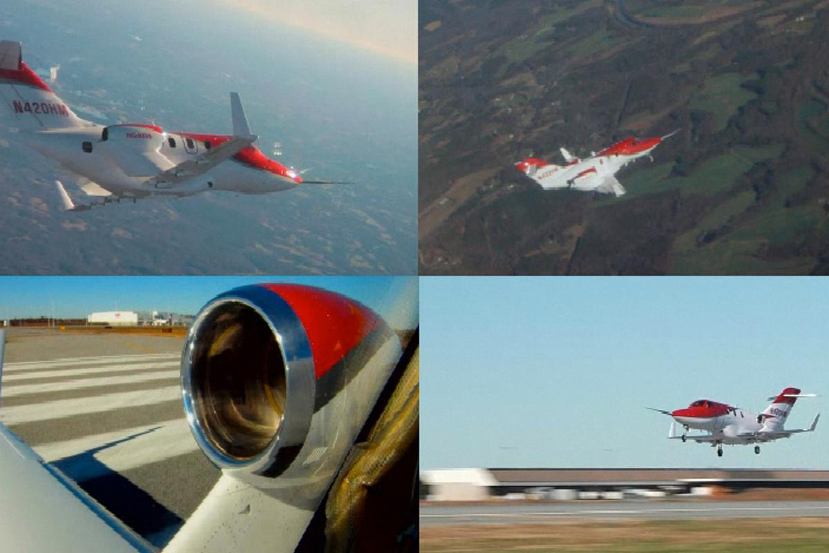 Honda's latest FAA-conforming test aircraft known as F2 has now begun flight testing