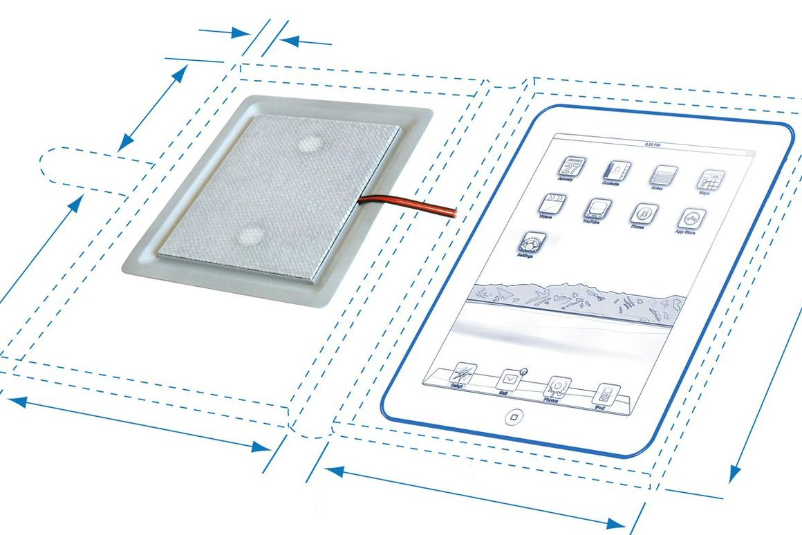 HiWave Technologies has announced the development of a new flat speaker unit designed to be incorporated into tablet covers