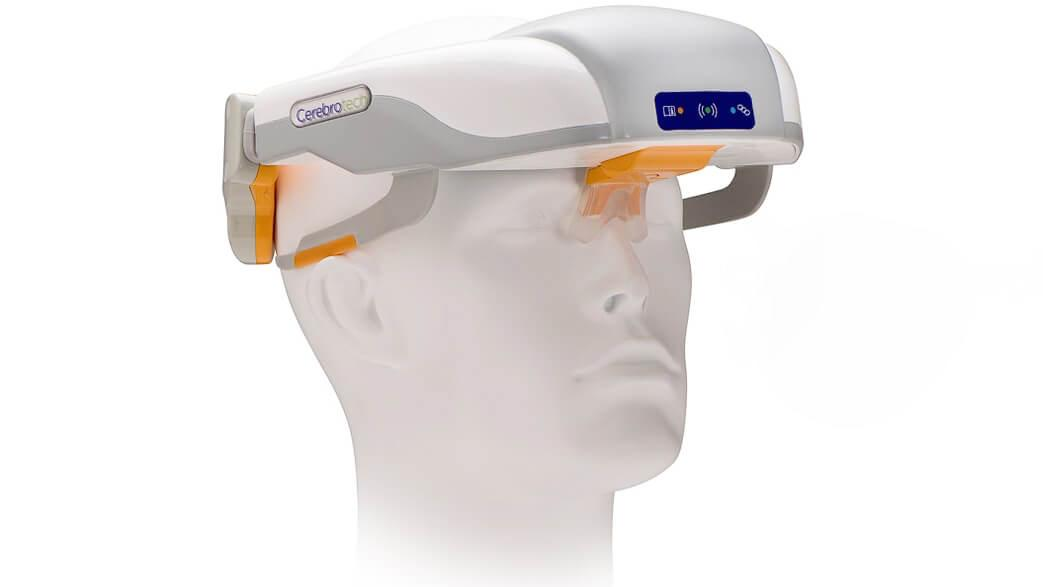 A rendering of the Cerebrotech Visor