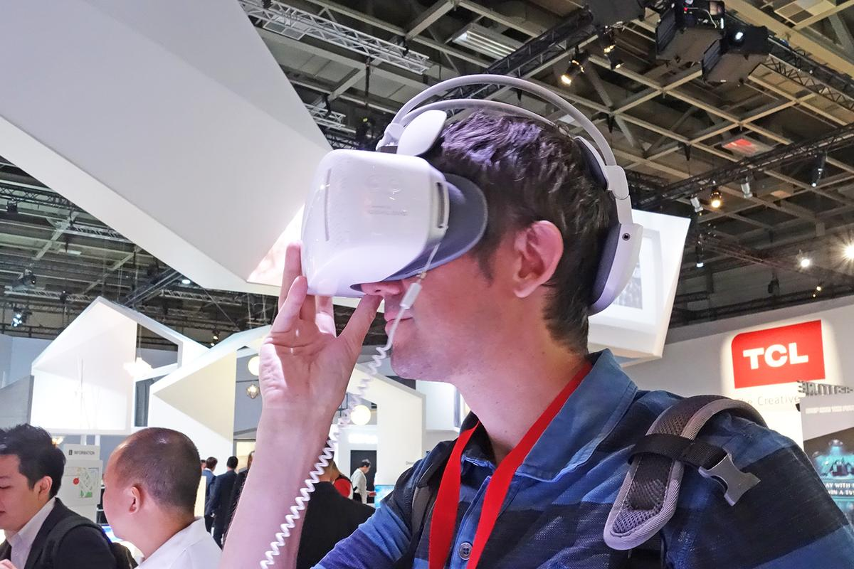 The VRheadsets keep coming, but the Alcatel Vision runs on its own