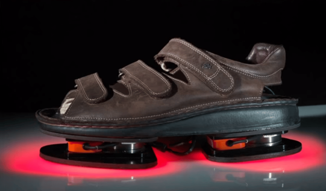 The ForceShoe was originally developed to help stroke patients (Image: NASA)