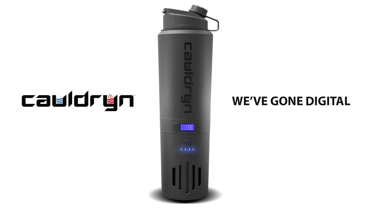 Cauldryn will add Bluetooth to V2 and is also working on voice command. We're told the voice command functionality won't be ready when V2 launches in July and will be part of a subsequent model release