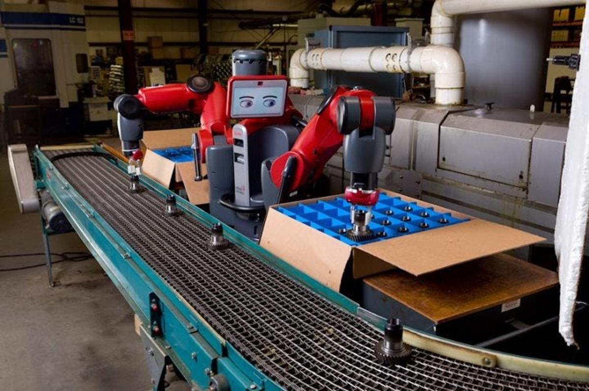 Production of the Baxter robot is ceasing