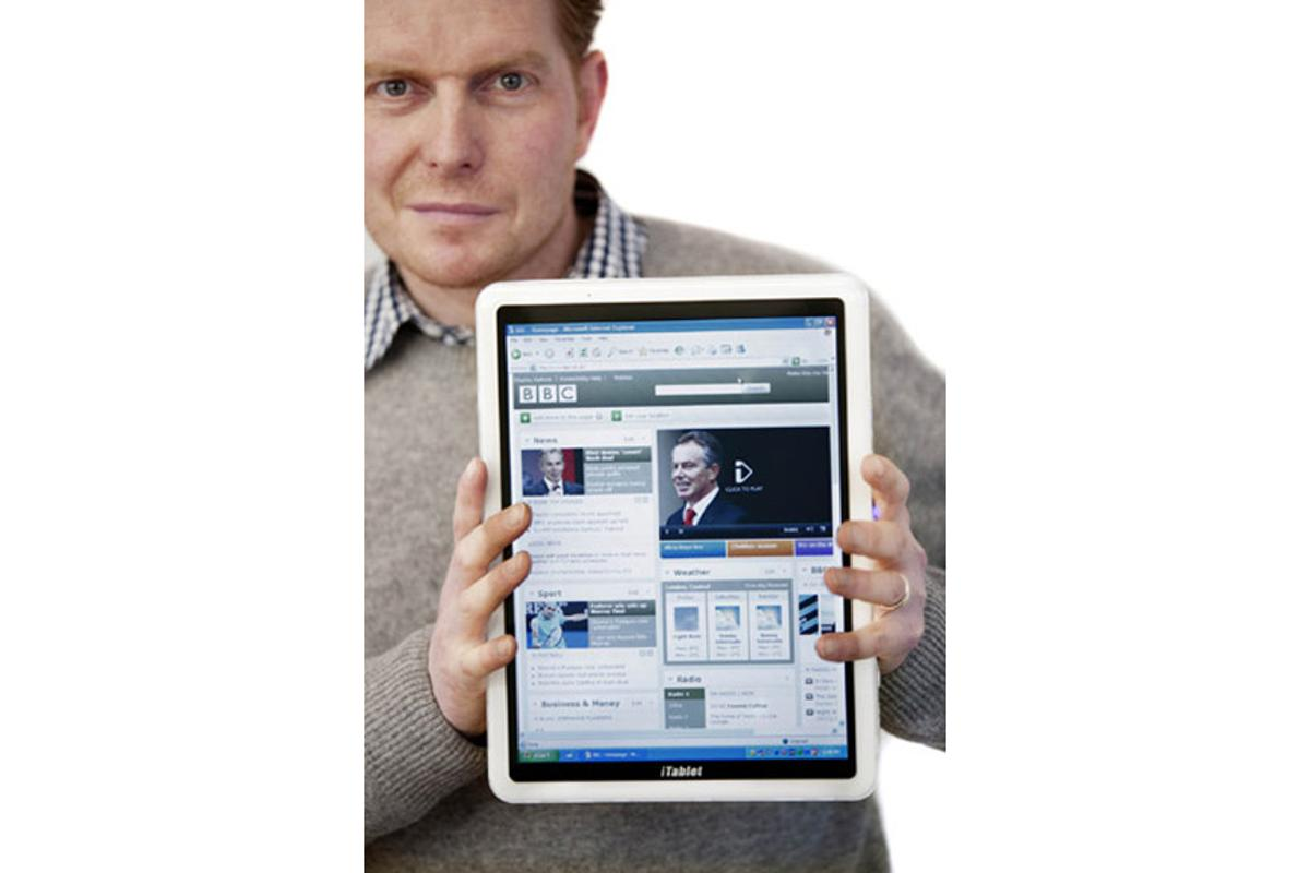 A challenger for the iPad? The X2 iTablet