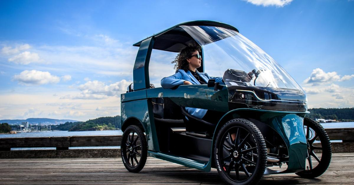 CityQ is like a four-wheeled electronic-drive ebike