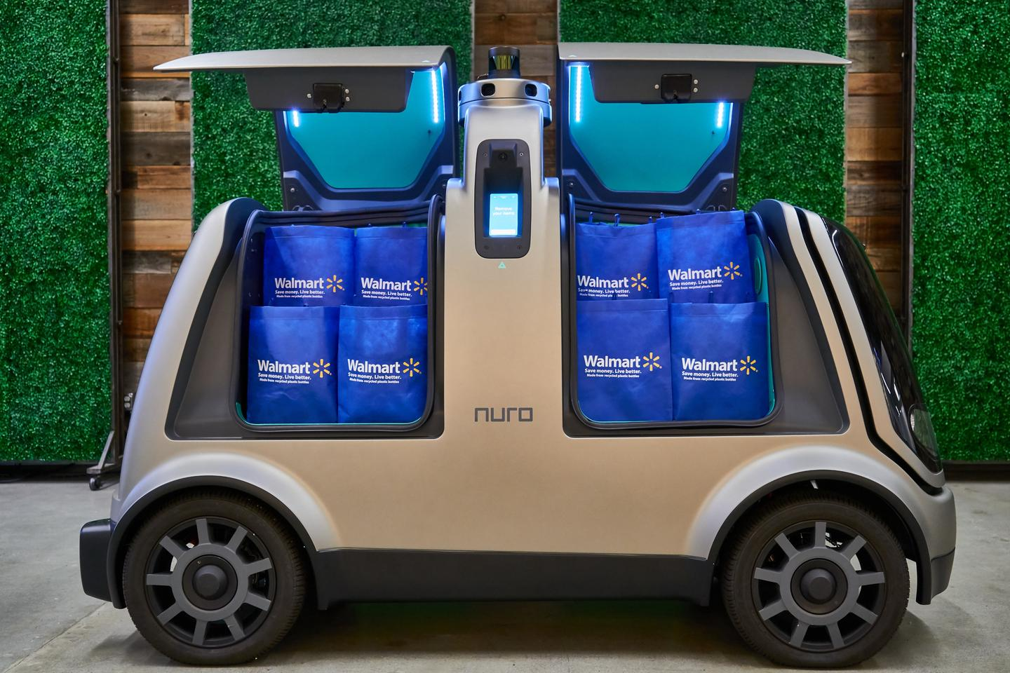The opt-in autonomous grocery delivery trial for Walmart customers will start in the coming months