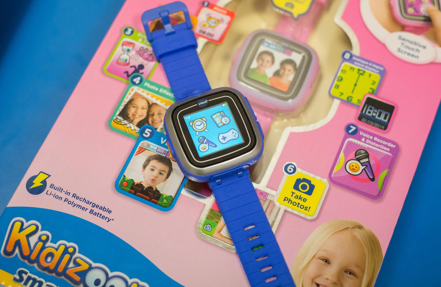 The VTech Kiddizoom Smart Watch is designed for 5 to 12-year-olds (Photo: Simon Crisp/Gizmag.com)
